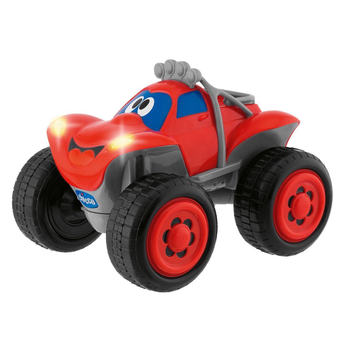 "Машинка Chicco ""Билли-большие колеса"", красная, 2г+ от интернет магазина iqbaby.ru"