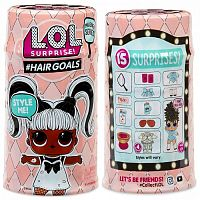 556220 5 серия MGA Entertainment Кукла капсула лол Hair Goals с волосами